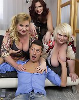 Dirty-minded MILFs get involved in a stunning orgy